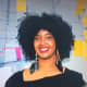 Tonika Lewis Johnson works from her office to fight against thie injustice of minorities and home ownership in Chicago areas.