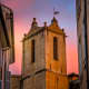 Eglise Tower in Aix-en-provence by RD Honde.  Nikon 24.0 - 120mm Lens at 120mm, f/13, 1/13 sec, ISO 640.