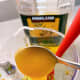 Add a teaspoon of raw honey into the mixture.
