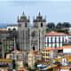 View of Se Catedral from Centro Portugues de Fotografia, Porto.