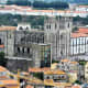 View of Se Catedral from Torre dos Clerigos, Porto.