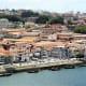 View of  Vila Nova de Gaia from the upper level of Ponte de Dom Luis 1.