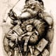 """Thomas Nast's 1881 depiction of Santa Claus is based on the Clement Clarke Moore poem """"An Account of a Visit from St. Nicholas."""""""