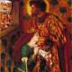 St George and Princess Sabra by Dante Gabriel Rossetti 1862