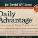 Daily Advantage supplements by Dr. David Williams.