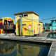 Floating homes in Richardson Bay, Sausalito, California