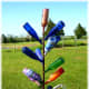 Whimsical sculpture at Windy Winery