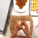 Adding a pineapple ball in the middle