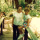 My mother and niece at Apple Creek in Oregon