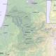 Map of the Umpqua River watershed, Oregon, United States