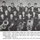 Photo of some members of the band, which totaled fifty-one individuals that year.