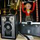 Old Kodak cameras, etc.