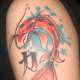 Koi Tattoo, Mike, Tattoo Machine, Puyallup WA)
