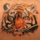 Tiger Tattoo, Javier Urbaneja, Q.bos Bodyart, Aranjuez (Madrid), Spain