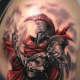 Mars Roman God of War tattoo