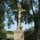 Wayside cross on Vorderwegscheitelweg (Kirrlach)