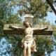 Closeup Photo of the Wayside cross on Vorderwegscheitelweg (Kirrlach)