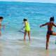 Snorkeling at Lanikai Beach, Hawaii