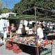 A pottery stall, Torremolinos market.