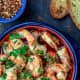 Gambas al ajilo (garlic sauce on shrimp)