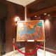 Paintings on display