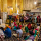 Sikhism: Sikhs in their temple, Delhi, India