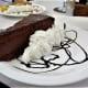 Chocolate dessert at Glamour.