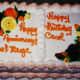 Shared anniversary/birthday cake