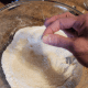 Add a pinch of salt. Stir well.
