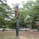 Totem pole birdhouse