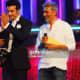 mithunda receiving award