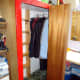 Major alterations done, and clothes re-hung in the wardrobe.