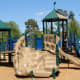 Another view of the Be An Angel children's playground