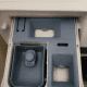 Detergent Drawer Compartments