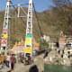 Lakshman Jhula, suspension bridge in Rishikesh