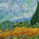 """""""Wheatfield With Cypresses"""" - July, 1889"""