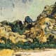 """""""Mountains at Saint-Remy"""" - July, 1889"""