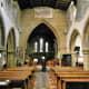 Inside Eyam Parish Church.
