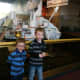 Touring the Air and Space Museum with children.