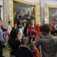 Touring the Rotunda at the Capitol