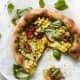 Iowa: Sweet Corn and Basil Pizza