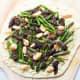 South Dakota: Asparagus and Morel Pizza