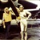 Ensign George Gay (right) from the USS Hornet, sole survivor of VT-8's TBD Devastator squadron, in front of his aircraft, June 4,1942. He lived until 1995. He would watch the entire battle after he was shot down near Nagumo's Midway carrier force.