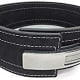 Lever operated powerlifting belt