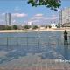 The Cologne Rhine View at the Promenade
