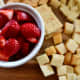 Strawberries are great with cheese and crackers, especially the more firm cheeses.