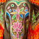 Painted elephants of India