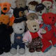 This photograph represents some of the more than 40 bears in the author's collection.