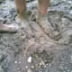 Feet in Mud. We are but dust, made from dust takes on a profount new meaning.