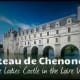 Chenonceau was lovingly protected and cared for by Diane de Poitiers, Catherine de' Medici and a line of other prominent French ladies.  The castle appears to float on the water.